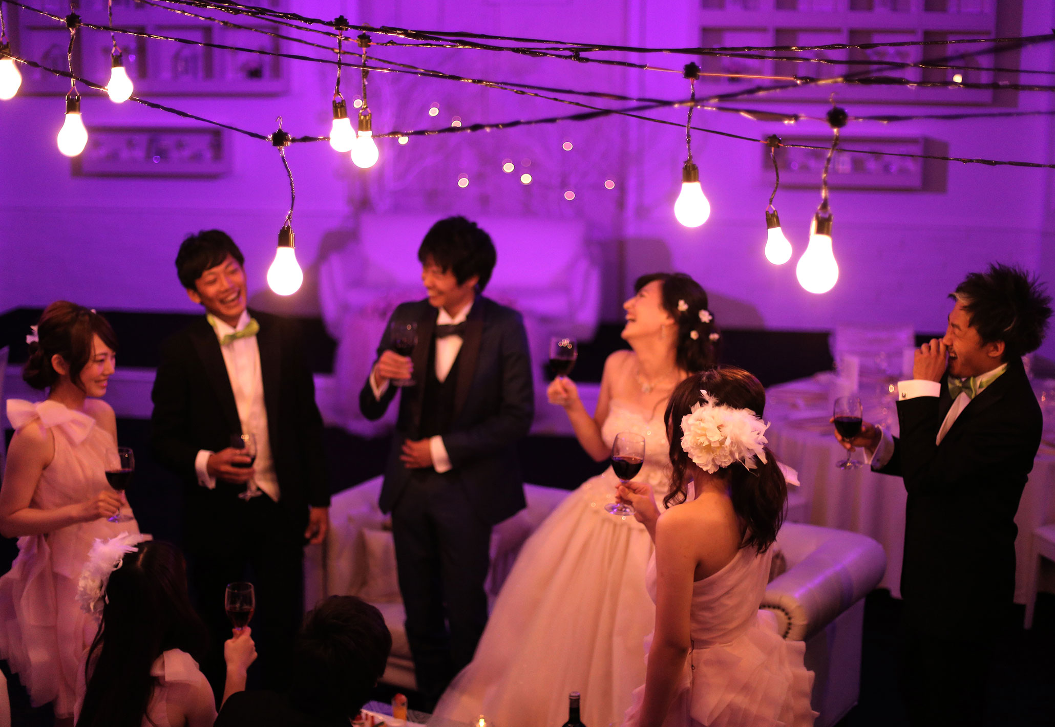 社交界のようなおしゃれな披露宴を|愛媛県松山市の結婚式場ベルフォーレ松山