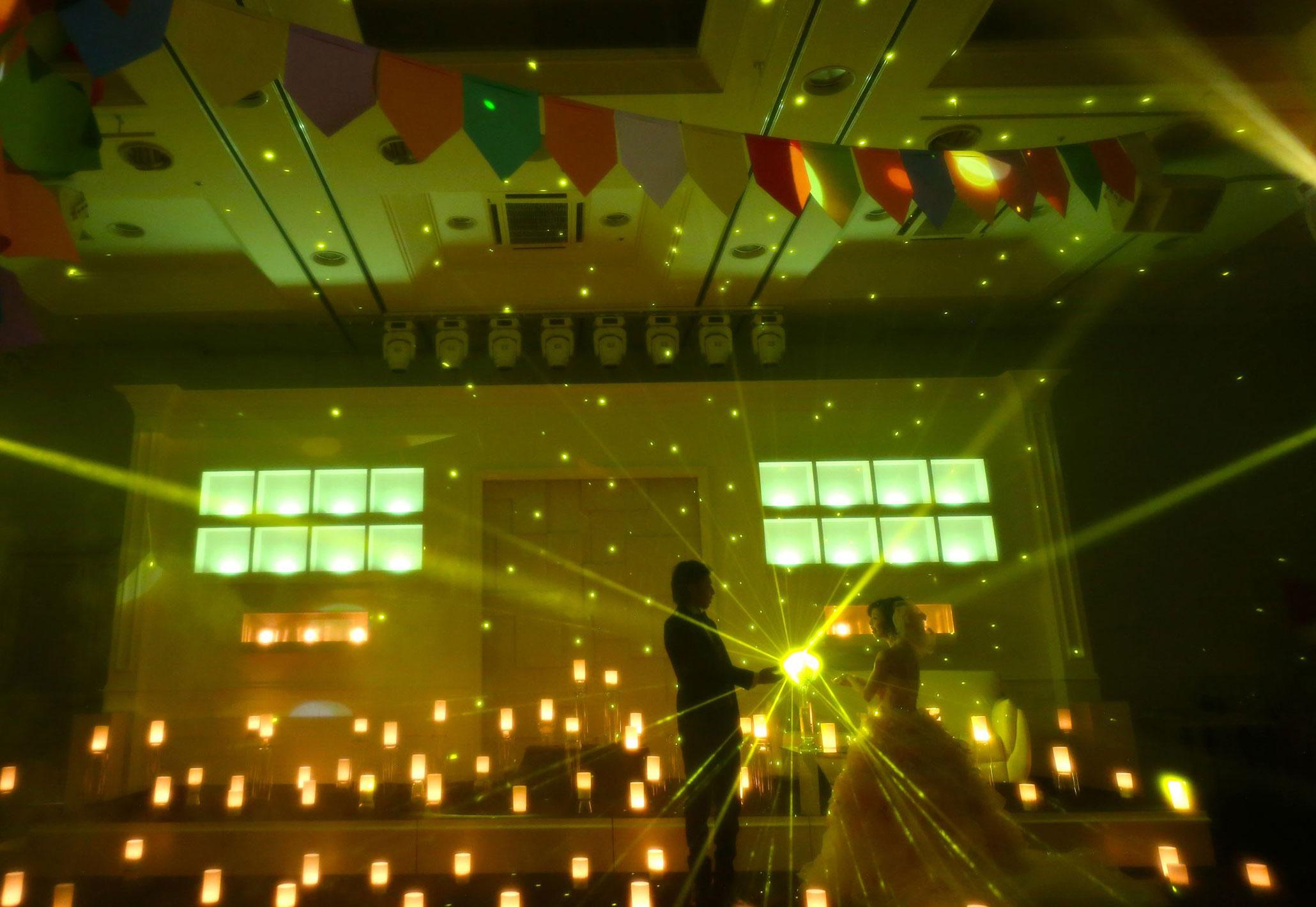 まるでラプンツェルのワンシーンのような空間|愛媛県松山市の結婚式場ベルフォーレ松山
