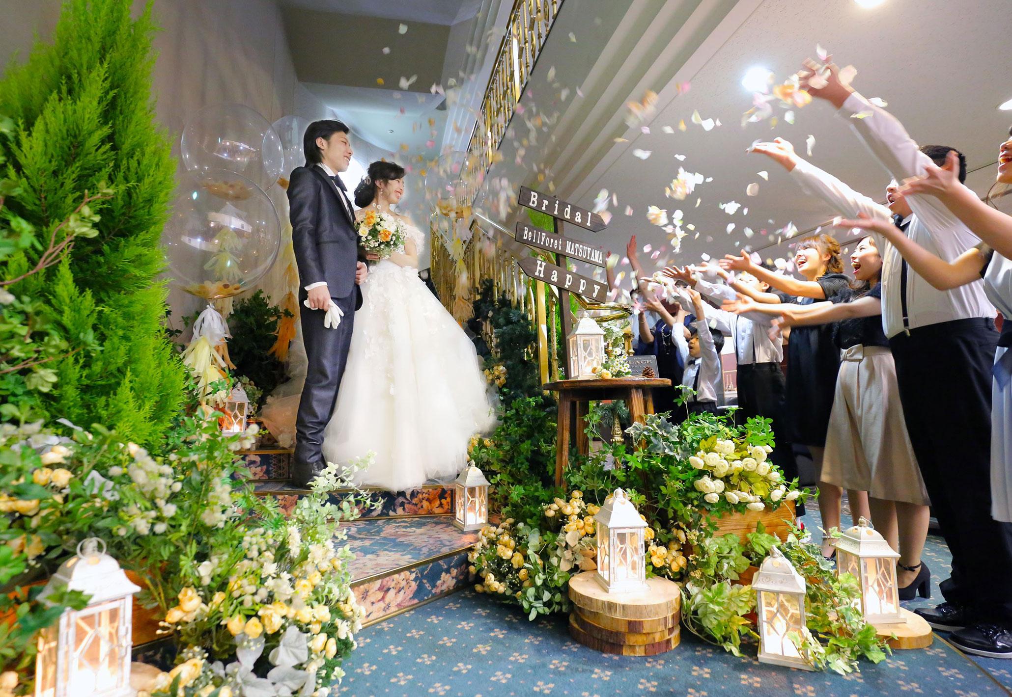 心に残るウェディングを|愛媛県松山市の結婚式場ベルフォーレ松山