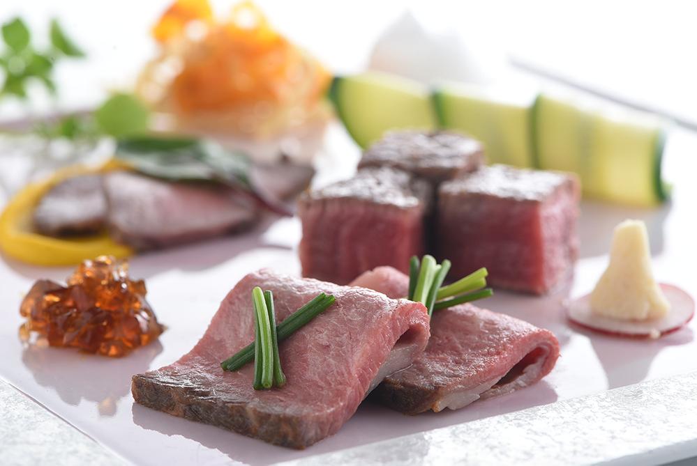 国産牛「フィレ」「ロース」「モモ」を3種の調理法で | 愛媛県松山市の結婚式場ベルフォーレ松山